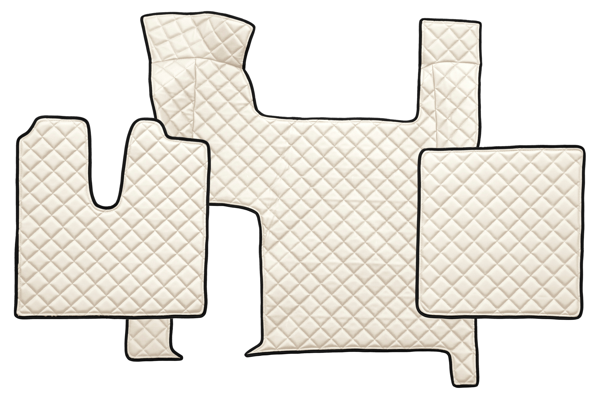 fl06 volle deckung lkw fu matten eco kunstleder man tgx automat zwei schubladen trucks. Black Bedroom Furniture Sets. Home Design Ideas